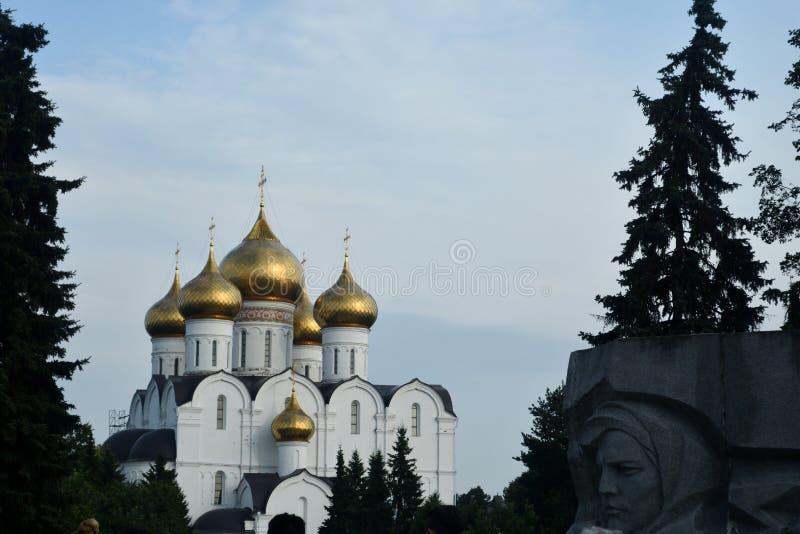 Igreja ortodoxa em R?ssia fotos de stock royalty free