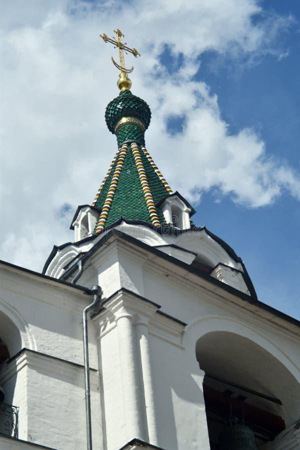 Igreja ortodoxa em R?ssia fotografia de stock royalty free