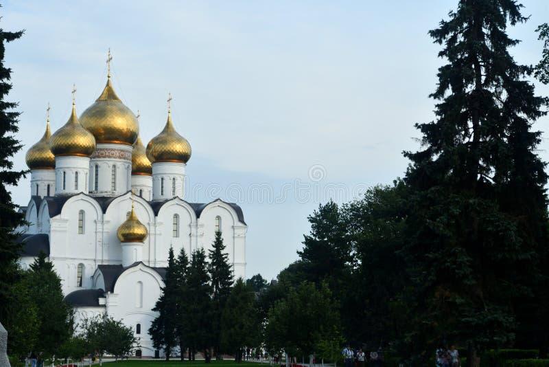 Igreja ortodoxa em R?ssia fotos de stock