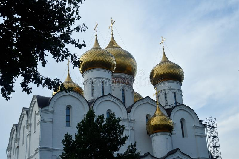 Igreja ortodoxa em R?ssia imagens de stock