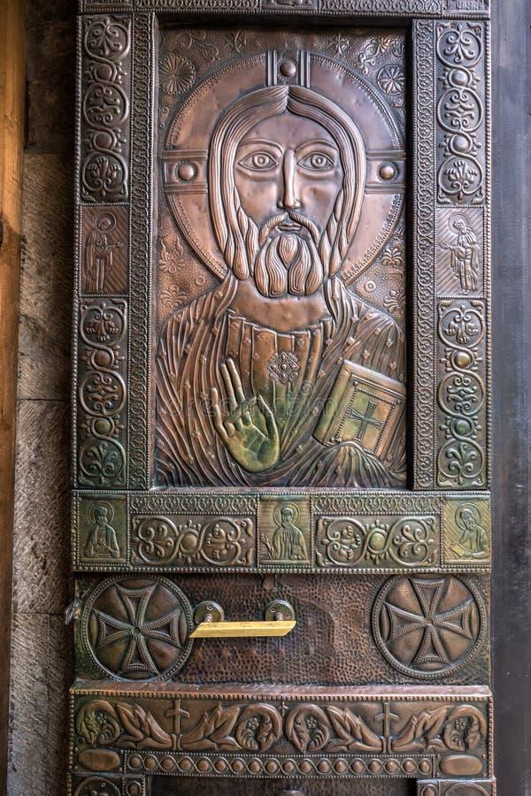Igreja ortodoxa Georgian imagem de stock royalty free
