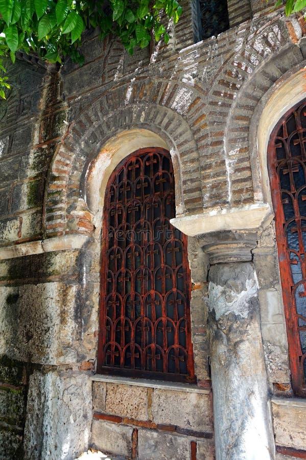 Igreja ortodoxa grega bizantina, Grécia foto de stock