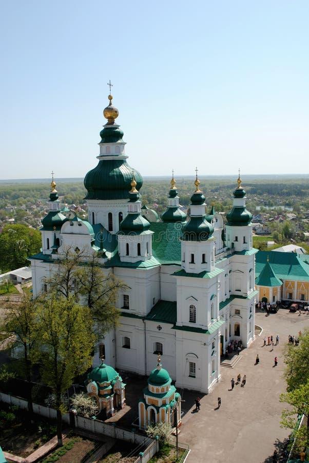 Igreja ortodoxa ucraniana imagens de stock