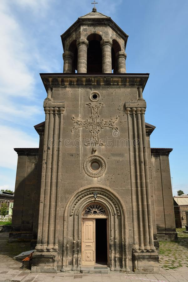 Igreja ortodoxa velha, Gyumri, Armênia imagens de stock royalty free