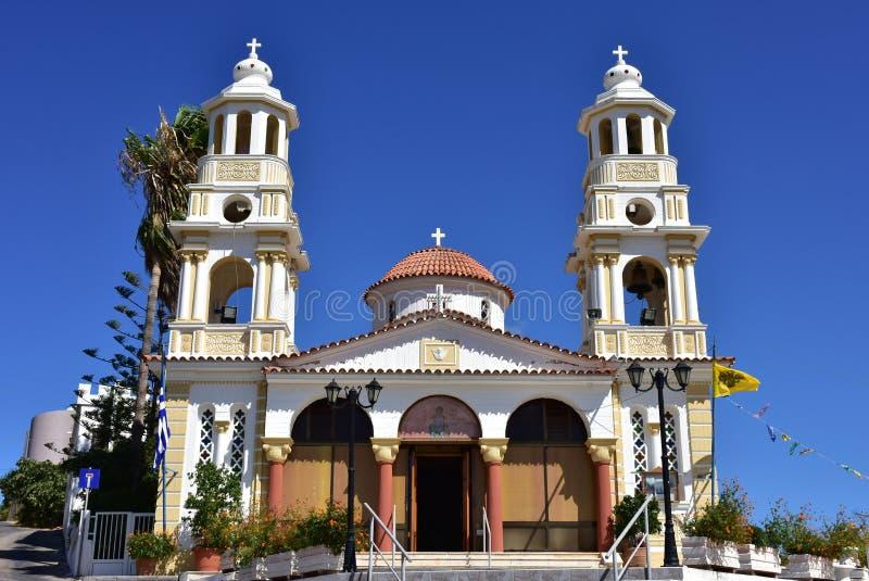 Igreja ortodoxa velha na Creta imagem de stock royalty free