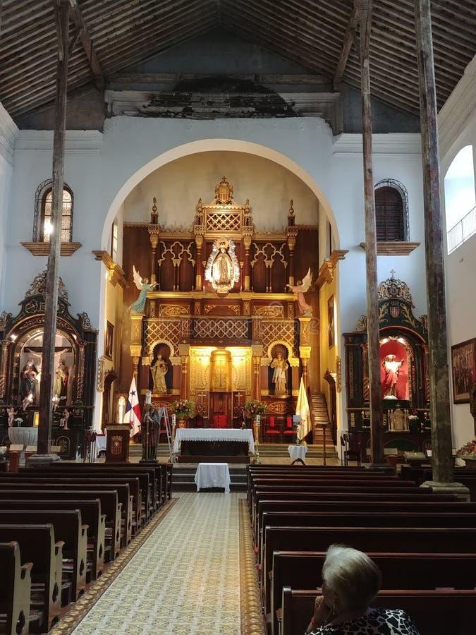 Igreja Panamá imagem de stock royalty free