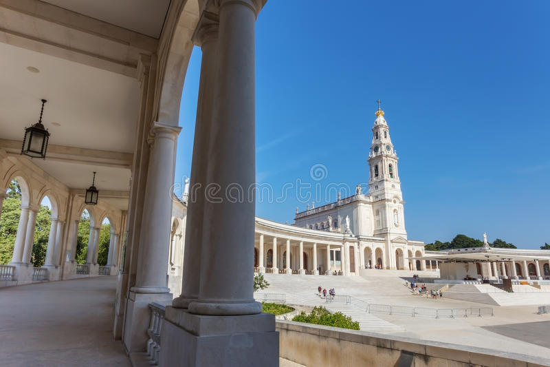 Igreja paroquial de Fatima dos detalhes fotografia de stock