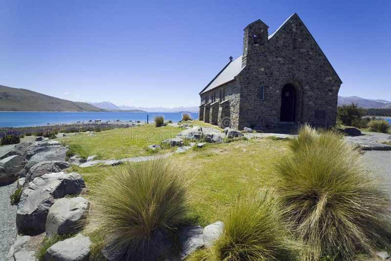 Igreja pequena fotos de stock royalty free