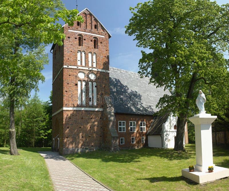 Igreja polonesa fotos de stock royalty free
