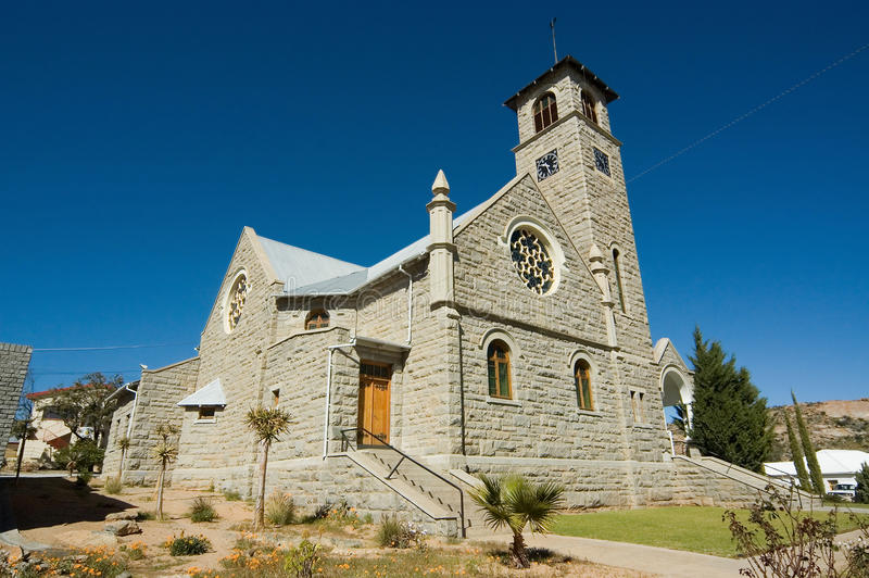 Igreja reformada Dutch Namaqualand fotos de stock