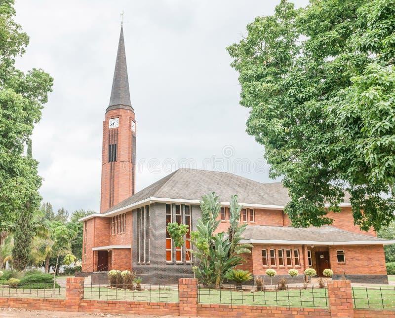 Igreja reformada Dutch Sondagsrivier em Kirkwood fotos de stock royalty free