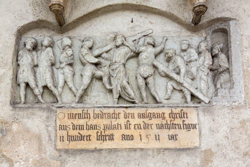 Igreja Regensburg Alemanha do St Emmeram foto de stock