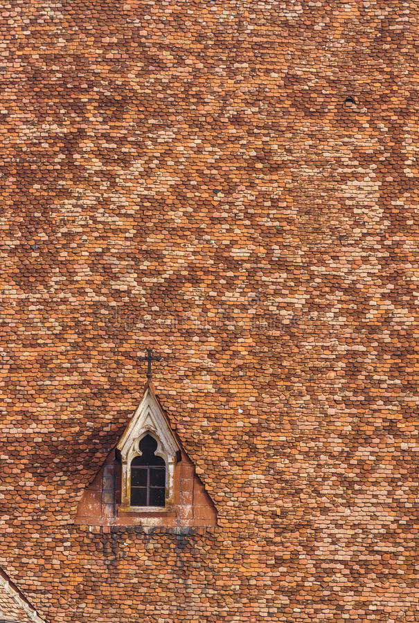 Igreja roof imagens de stock royalty free