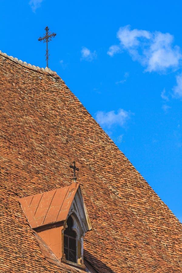 Igreja roof fotos de stock