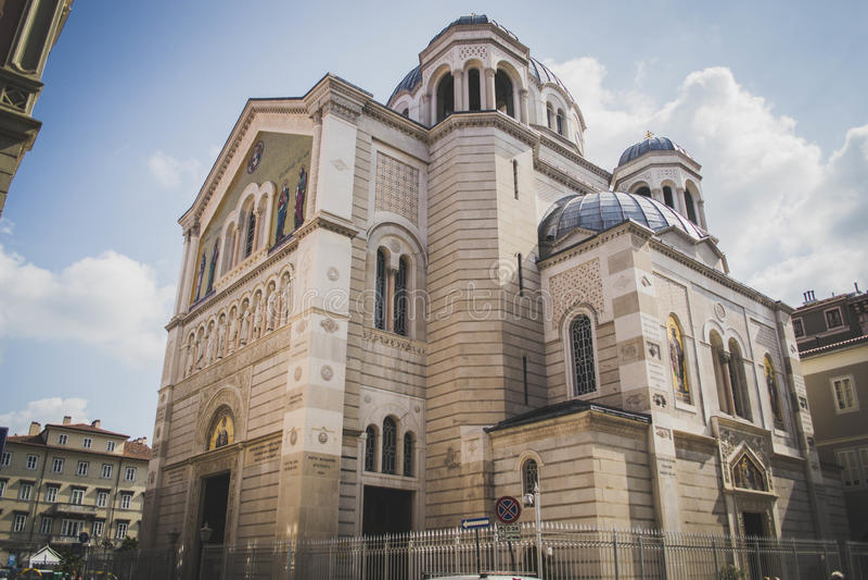 Igreja Sérvia Ortodoxa - Serbe Ortodoxian-Kirche lizenzfreies stockfoto