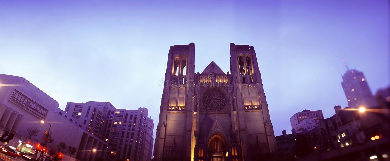 Igreja San Francisco (EUA) fotografia de stock royalty free