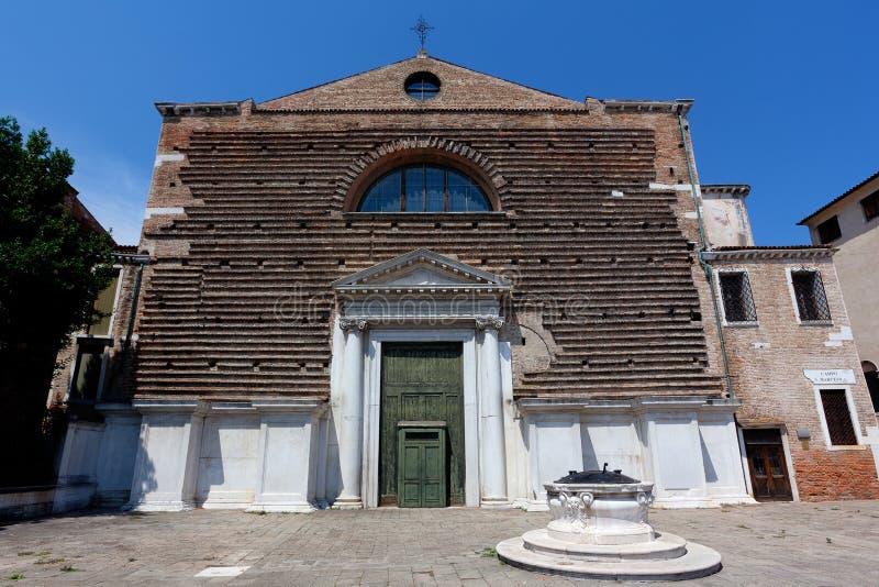 Igreja San Marcuola, Veneza, Venezia, Itália, Italia imagens de stock royalty free