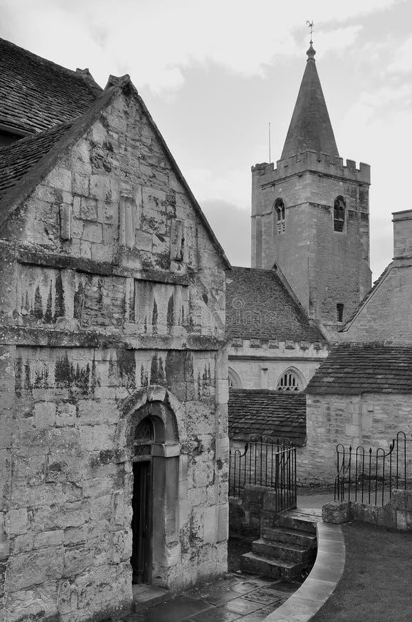 Igreja saxona foto de stock royalty free