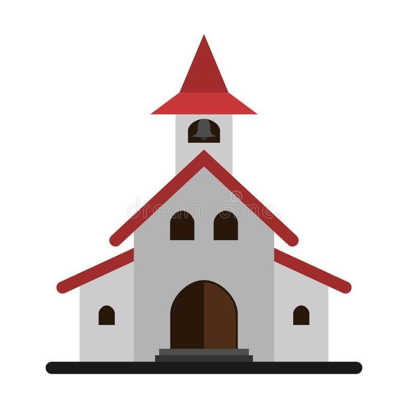 Igreja simples bonita imagens de stock royalty free