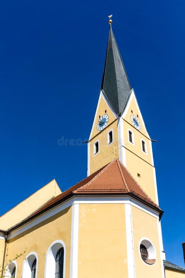 Igreja St Ägidius Dietfurt igreja paróquia Baviera Alemanha foto de stock