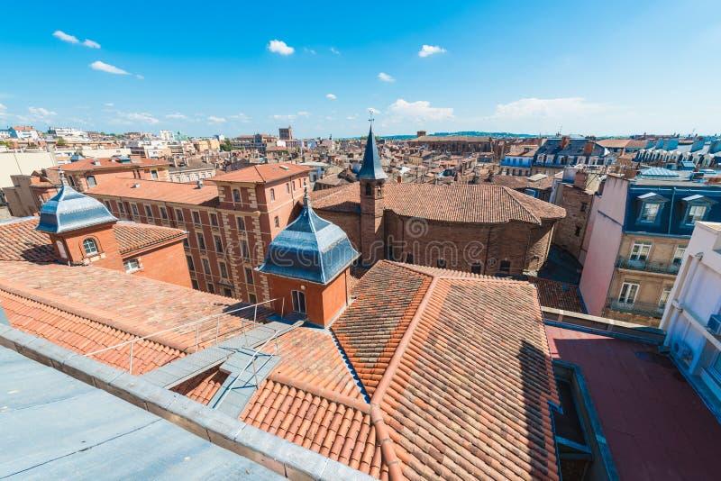 Igreja St Jerome em Toulouse, França imagens de stock