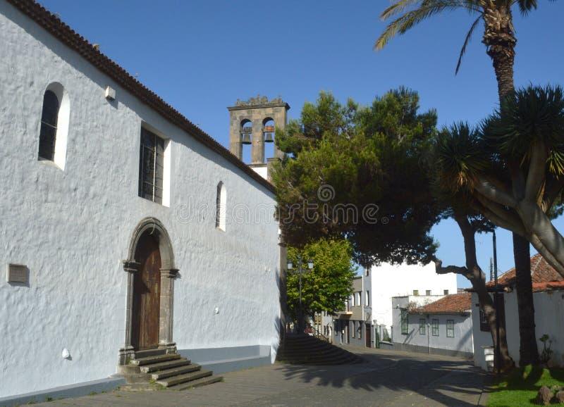 Igreja, Tenerife imagens de stock royalty free