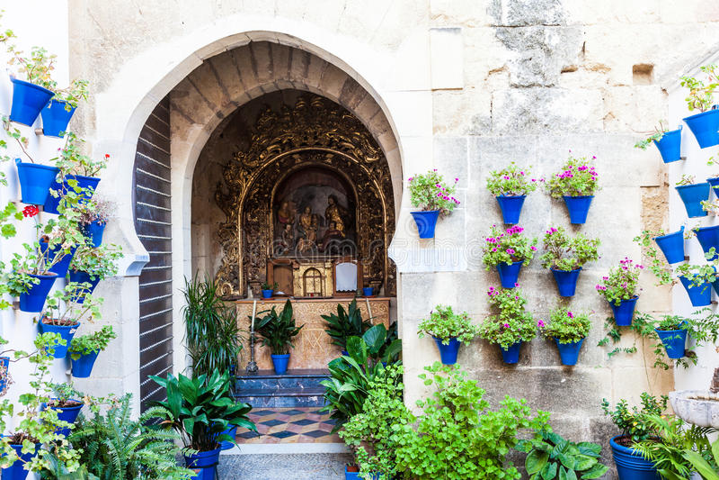 Igreja tradicional em Córdova foto de stock royalty free