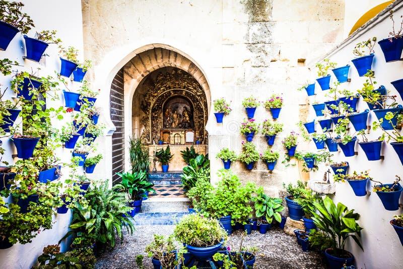 Igreja tradicional em Córdova imagem de stock royalty free
