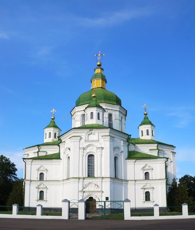 Igreja Ucrânia do Transfiguration imagens de stock