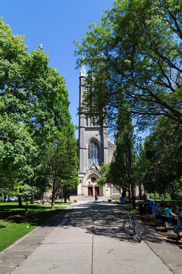 Igreja unida metropolita Toronto fotografia de stock royalty free
