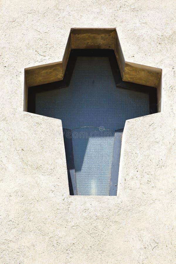 Igreja varese Italia da cruz de Samarate foto de stock royalty free