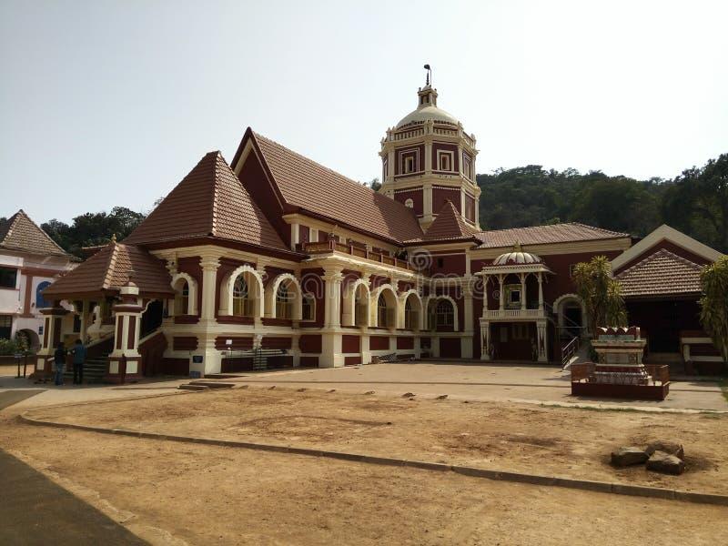 Igreja velha em Goa imagem de stock royalty free
