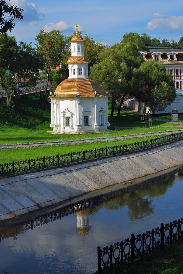 Igreja velha em Sergiev Posad, Rússia fotografia de stock royalty free