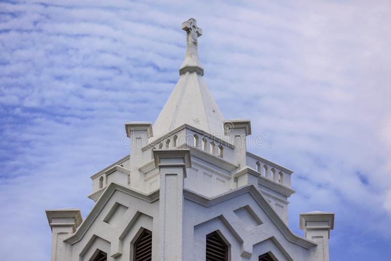 Igreja velha Key West FL fotos de stock royalty free