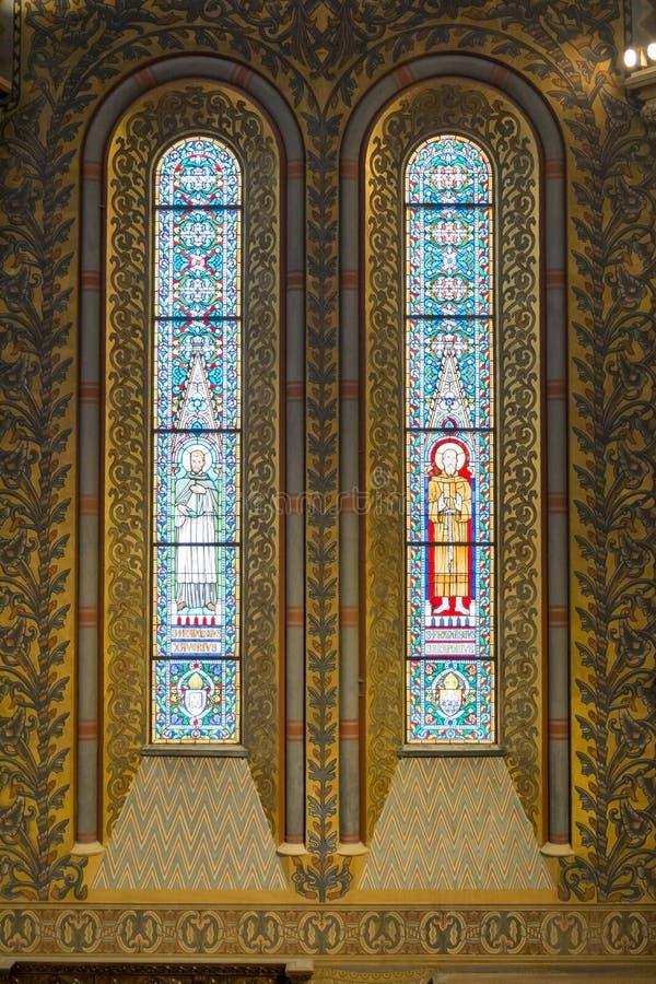 Igreja Windows imagens de stock royalty free