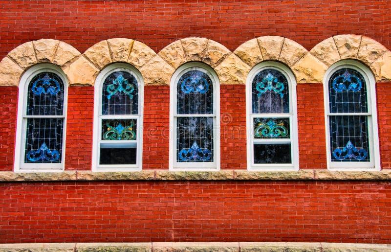 Igreja Windows 1 imagem de stock