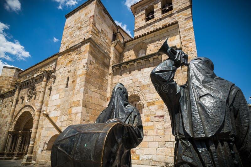 igreja Zamora fotografia de stock royalty free
