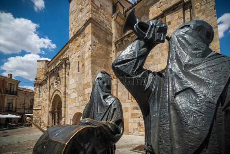 igreja Zamora fotografia de stock
