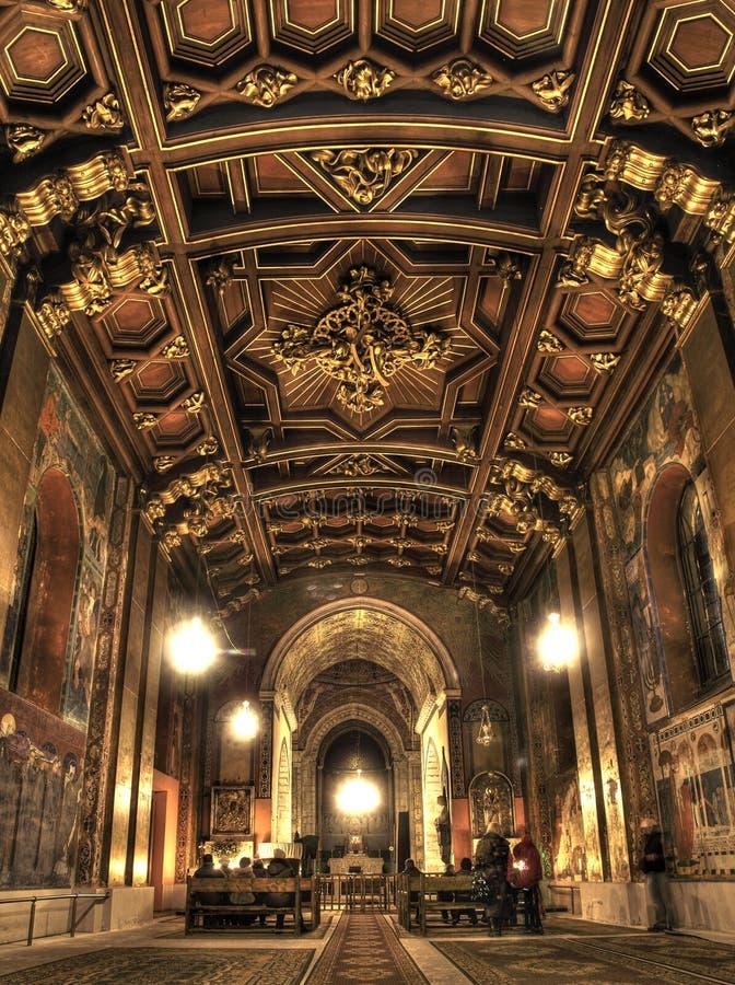 Igrejas de Lvov velho imagens de stock royalty free