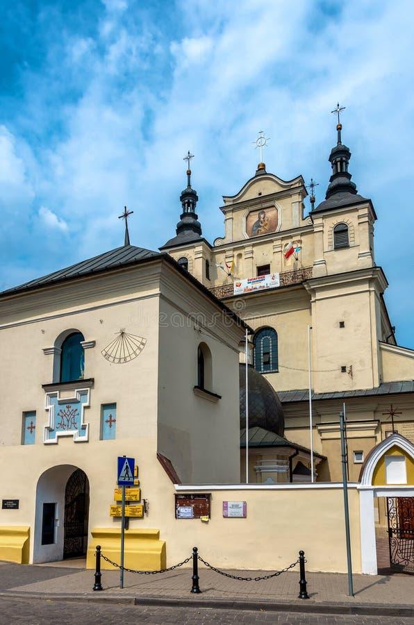 Igrejas do Polônia - Janow Lubelski imagem de stock