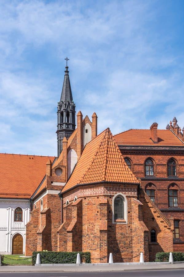 Igrejas do Polônia - Wloclawek imagem de stock royalty free