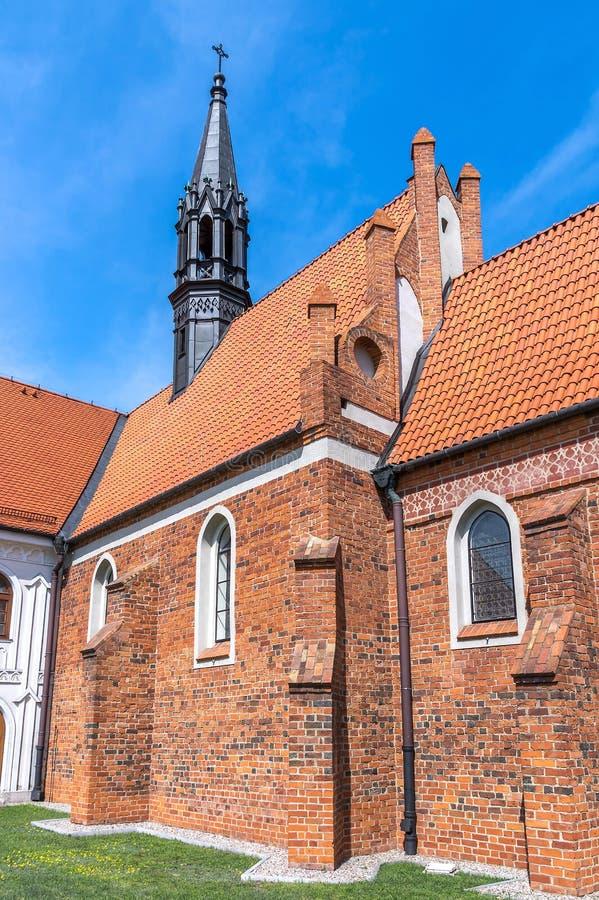 Igrejas do Polônia - Wloclawek foto de stock
