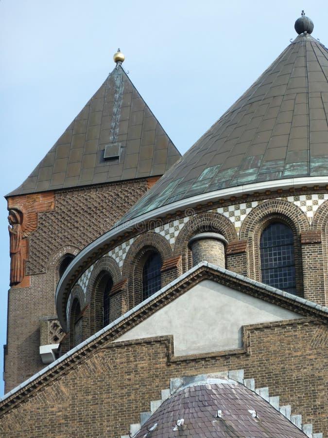 Igrejas holandesas foto de stock
