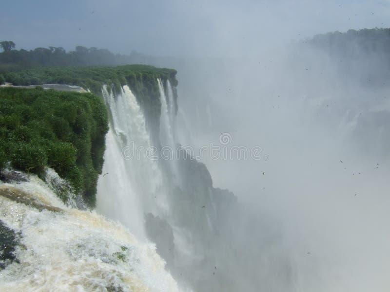 Iguacu baja parque nacional fotografía de archivo libre de regalías
