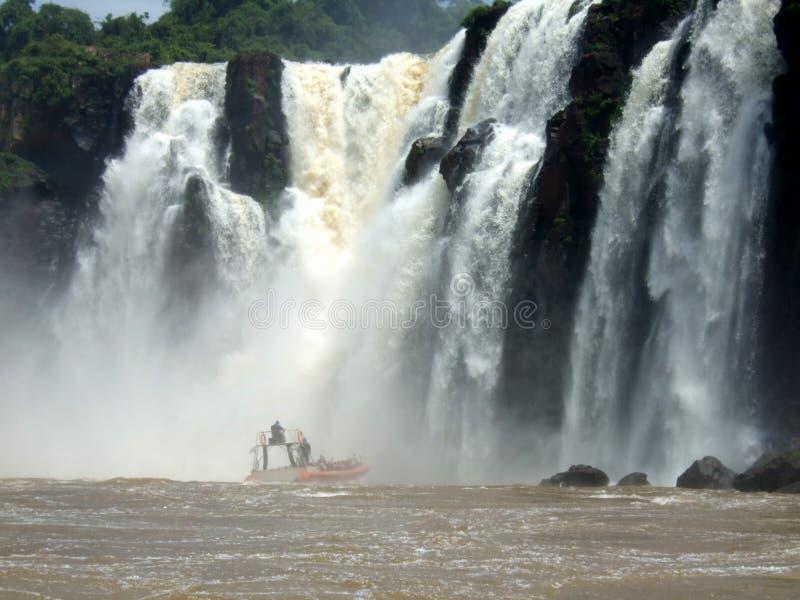 Iguacu baja parque nacional imágenes de archivo libres de regalías
