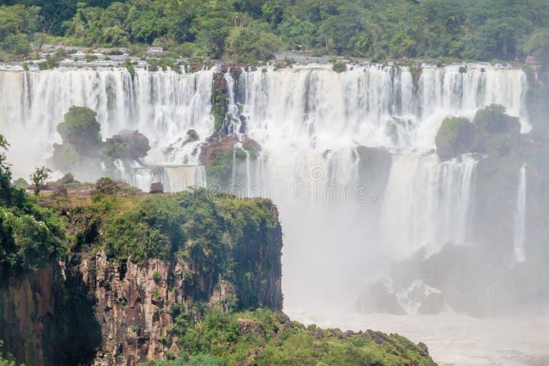 Iguacu las cataratas del Iguazú foto de archivo