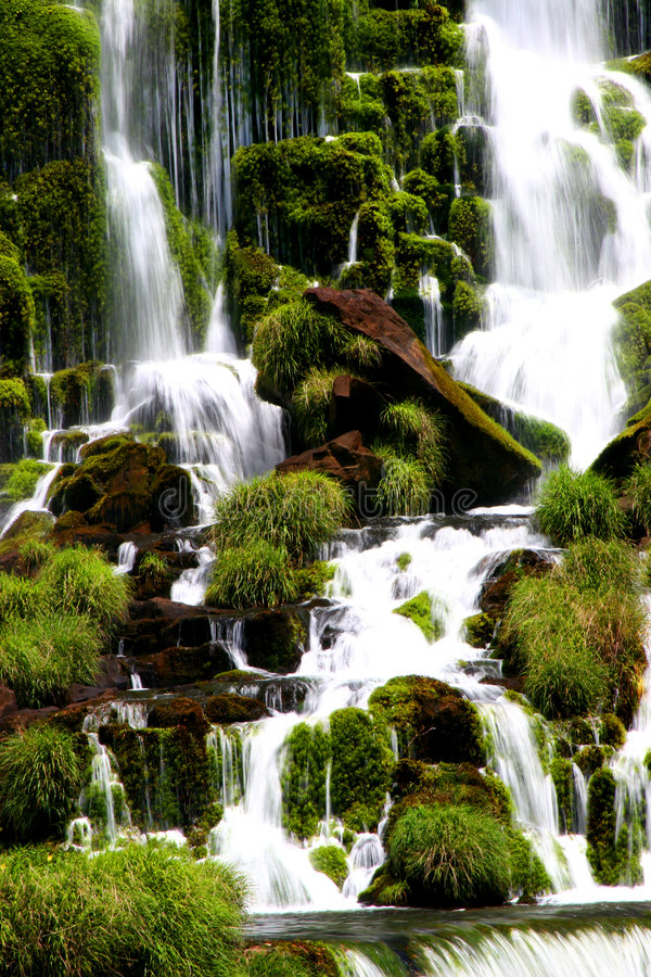 Iguacu Waterfall royalty free stock photography
