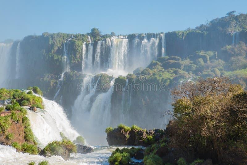 Iguacuwatervallen, Zuid-Amerika stock fotografie