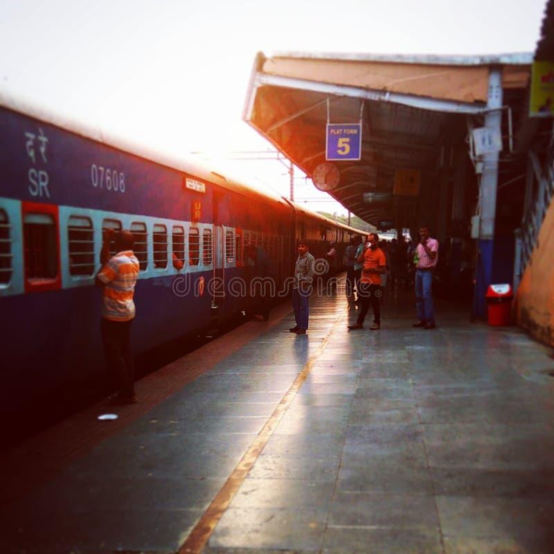 Igualación del tren imagenes de archivo