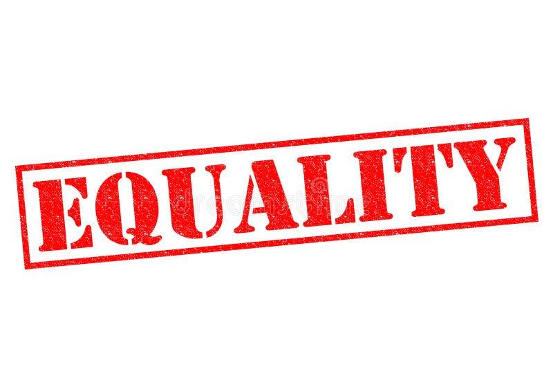 igualdad ilustración del vector